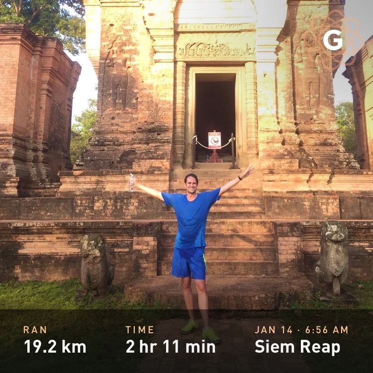 Running in Angkor Wat and Siem Reap, Cambodia - Mark Koester